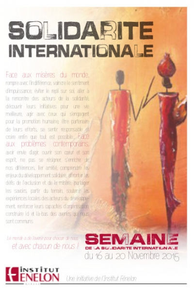 Programme de la SEMAINE INTERNATIONALE de SOLIDARITE