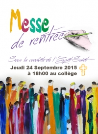 MESSE DE RENTREE