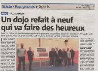 FENELON solidaire du DOJO CLUB ...